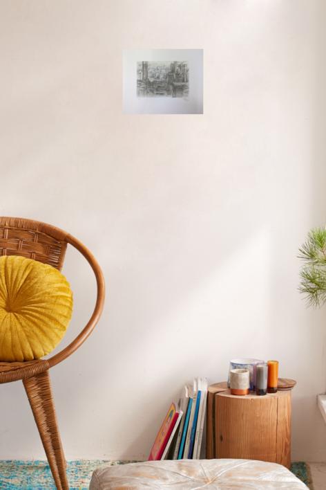 Foro di Cesari | Obra gráfica de Luis Javier Gayá | Compra arte en Flecha.es