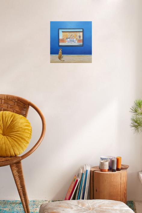 La Conversación I | Pintura de Rosa Alamo | Compra arte en Flecha.es