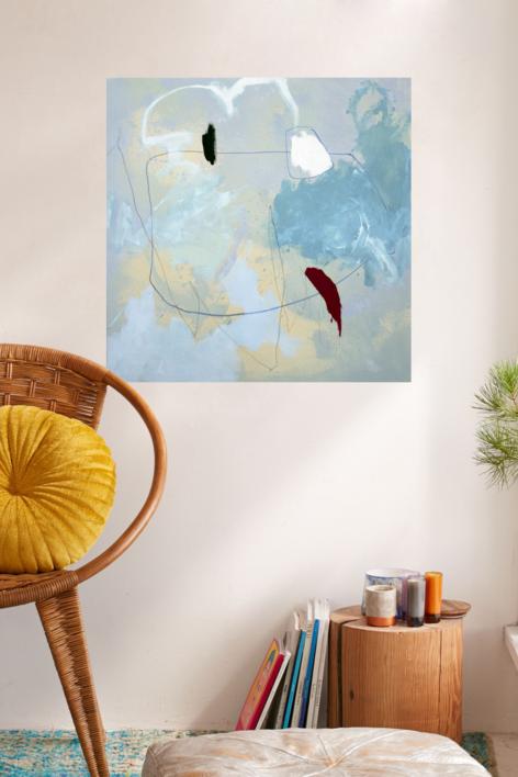 En l'aigua | Pintura de Perceval Graells | Compra arte en Flecha.es
