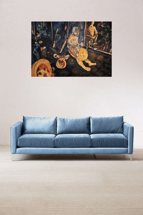 En Fez | Pintura de RICHARD MARTIN | Compra arte en Flecha.es