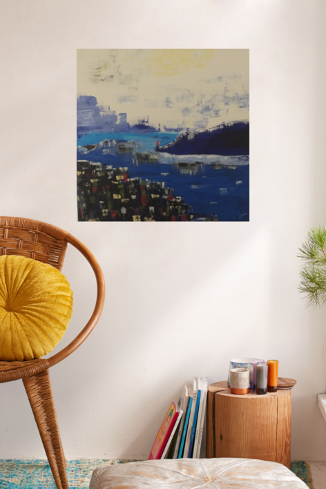 BAHIA | Pintura de Tines | Compra arte en Flecha.es