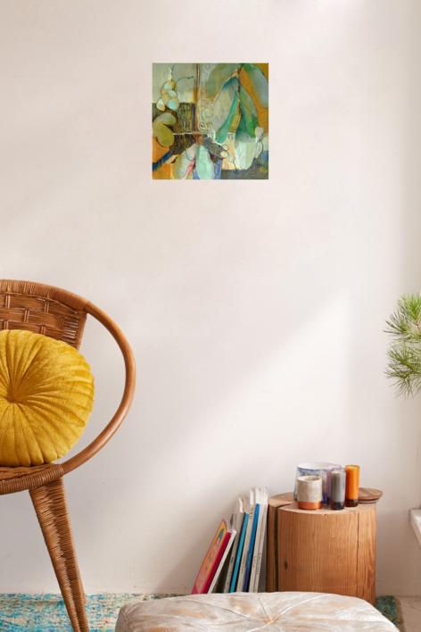 Orquídeas 2 | Dibujo de Carolina Veramendi B | Compra arte en Flecha.es