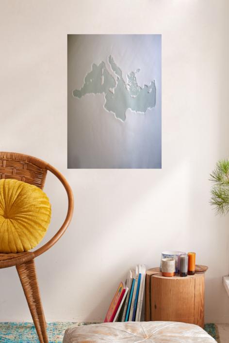 Mare Nostrum XIX | Obra gráfica de Jaelius Aguirre | Compra arte en Flecha.es