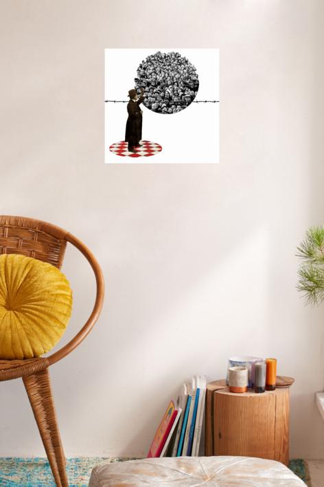 Agujero Negro nº8 | Collage de Gabriel Aranguren | Compra arte en Flecha.es