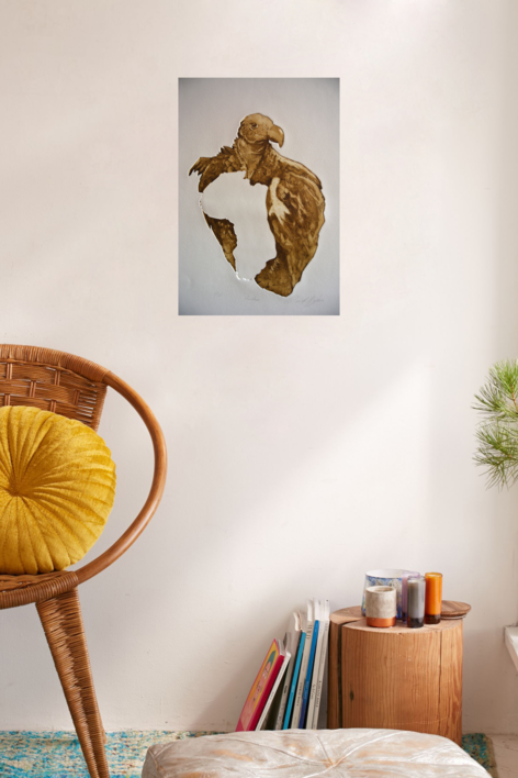 Hambre | Obra gráfica de David Rojas | Compra arte en Flecha.es
