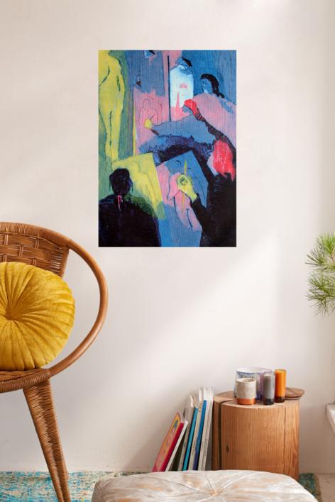 El estudio I | Obra gráfica de Jenifer Carey | Compra arte en Flecha.es