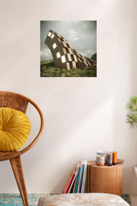 El refugio | Digital de Javier Bueno | Compra arte en Flecha.es
