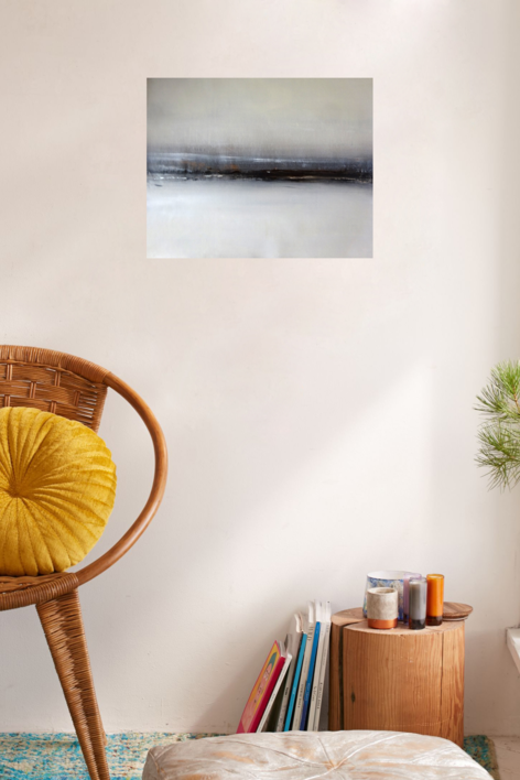 Cielo del norte | Pintura de Esther Porta | Compra arte en Flecha.es