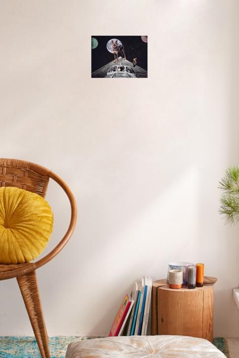 Landing | Collage de Jaume Serra Cantallops | Compra arte en Flecha.es
