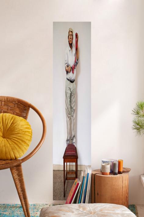 El cortador de jamón | Pintura de laulimens | Compra arte en Flecha.es