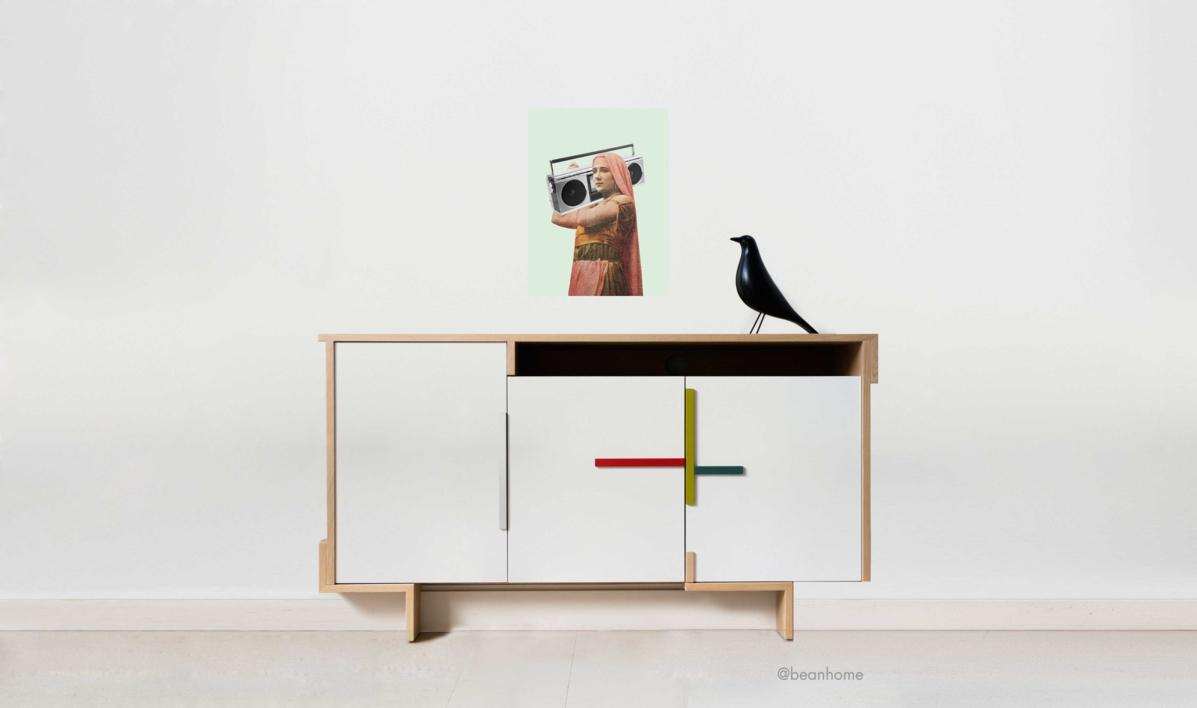 Rap | Collage de Jaume Serra Cantallops | Compra arte en Flecha.es