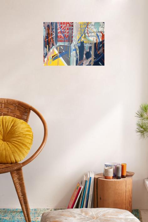 NOCHE | Pintura de Iraide Garitaonandia | Compra arte en Flecha.es