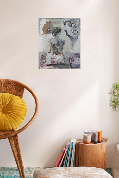 Ella | Collage de Calonje | Compra arte en Flecha.es