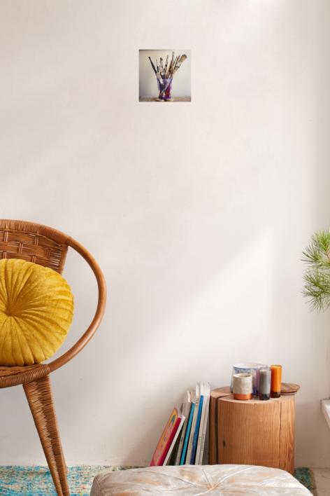 La eternidad en un vaso | Fotografía de Raúl Urbina | Compra arte en Flecha.es