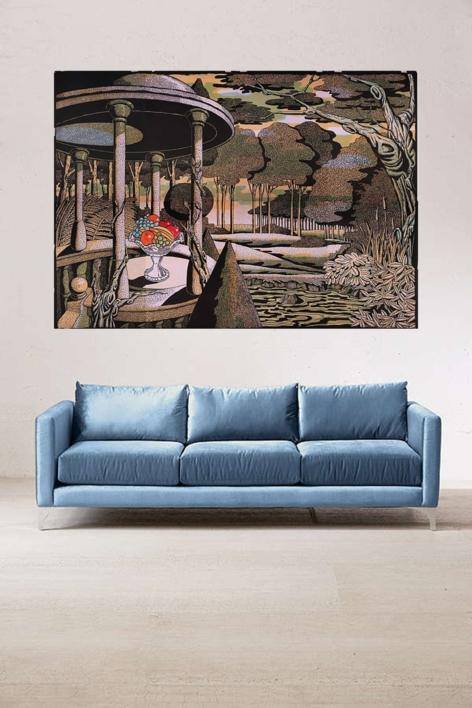 Jardín Inglés | Obra gráfica de Fernando Bellver | Compra arte en Flecha.es