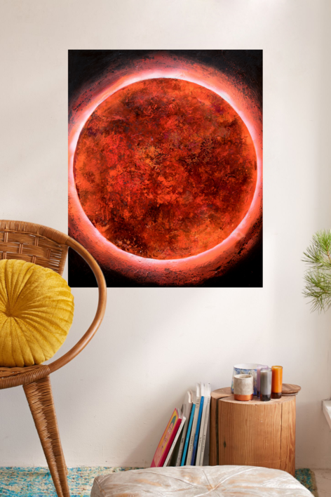 Cosmos | Pintura de Carmen Montero | Compra arte en Flecha.es