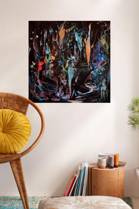 Metamorfosis | Pintura de Lika | Compra arte en Flecha.es