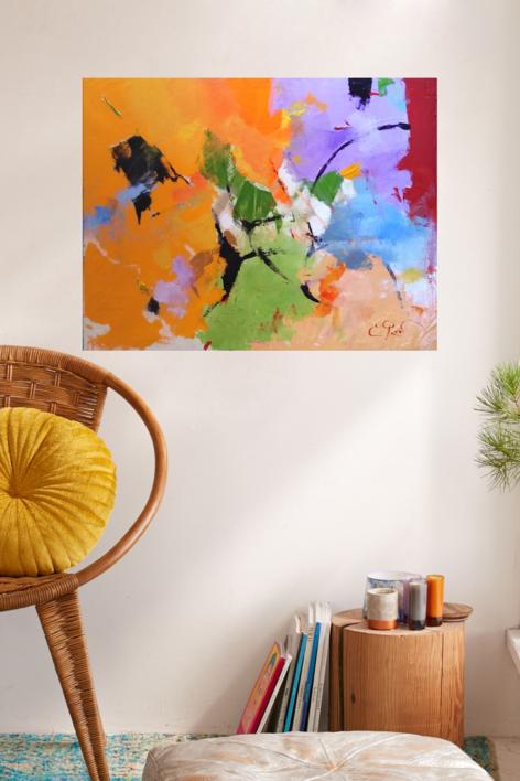 Colorín colorado   Pintura de Enrique Pazos   Compra arte en Flecha.es