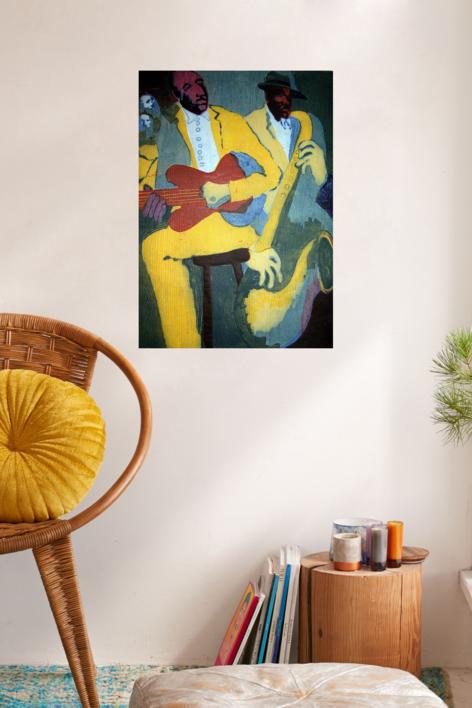 Jazz dueto IV | Obra gráfica de Jenifer Carey | Compra arte en Flecha.es