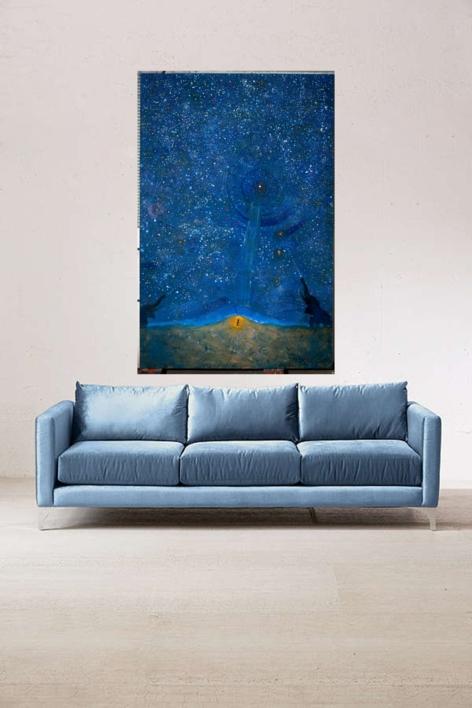 Alpha Centauri | Pintura de El Hortelano | Compra arte en Flecha.es