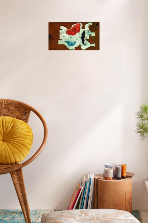 La Visión de un Niño | Obra gráfica de Jorge Castillo | Compra arte en Flecha.es