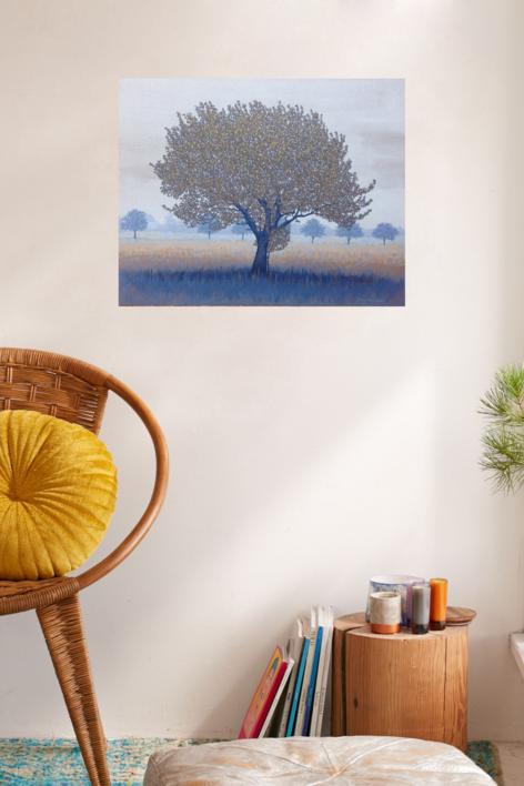 Paisaje de Escania | Pintura de Charlotte Adde | Compra arte en Flecha.es