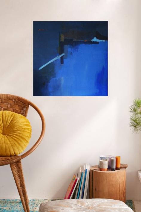Buscando el  Norte | Pintura de Leticia Gª Marañón | Compra arte en Flecha.es