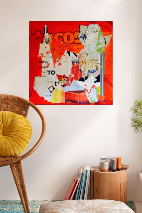 Red Public | Collage de Marina Muñoz Viada | Compra arte en Flecha.es