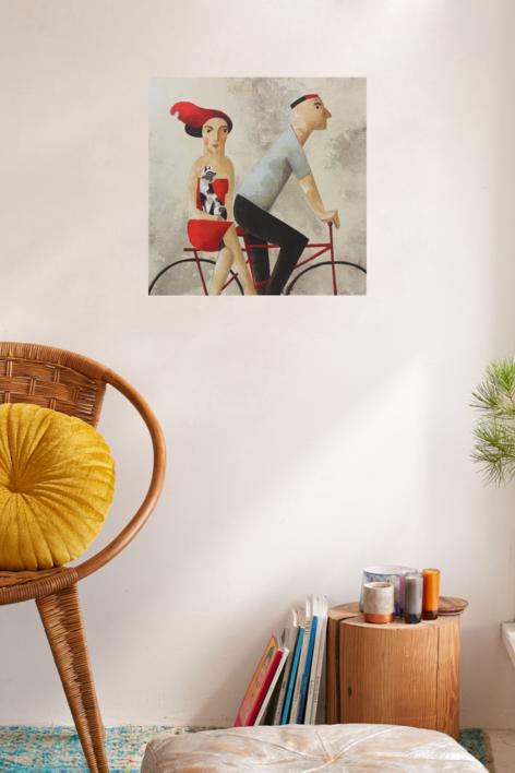 With You | Obra gráfica de Didier Lourenço | Compra arte en Flecha.es