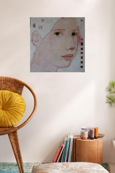 """""""BLANCA""""   Pintura de Eduardo Salazar   Compra arte en Flecha.es"""
