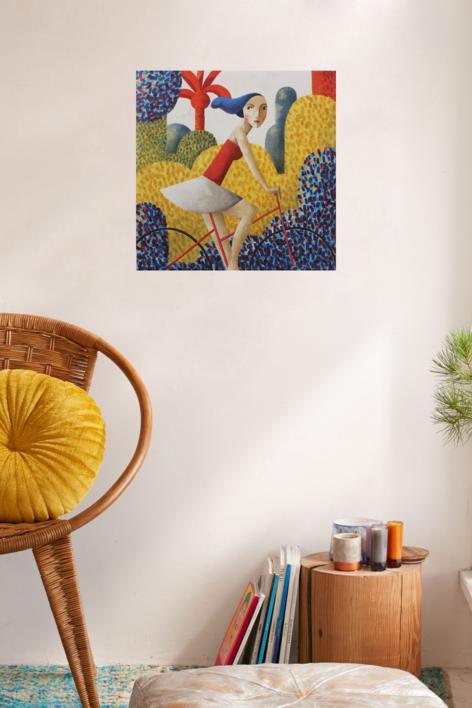 Printemps | Obra gráfica de Didier Lourenço | Compra arte en Flecha.es