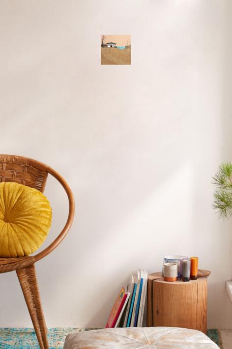 Sedentarios (135) | Collage de Eduardo Query | Compra arte en Flecha.es