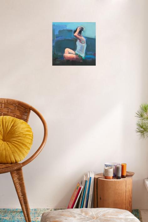 Comunicación no verbal | Pintura de Teresa Muñoz | Compra arte en Flecha.es
