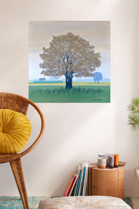 La casa de Britt | Pintura de Charlotte Adde | Compra arte en Flecha.es