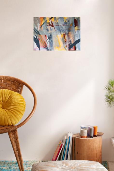 Mapa de sensaciones II | Pintura de Iraide Garitaonandia | Compra arte en Flecha.es