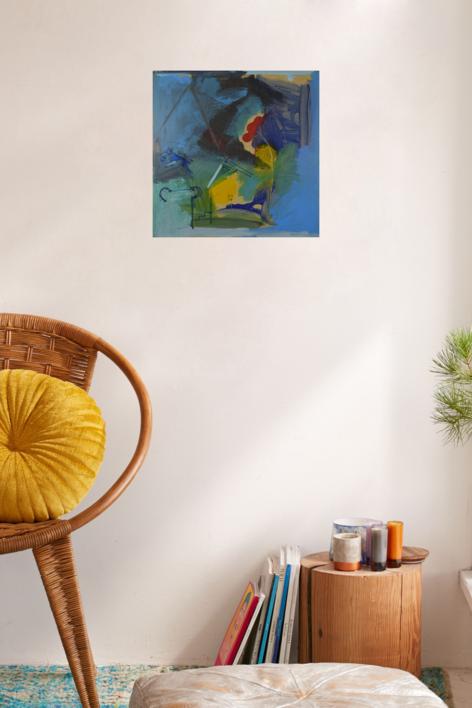 JULIO 11 | Pintura de JCuenca | Compra arte en Flecha.es