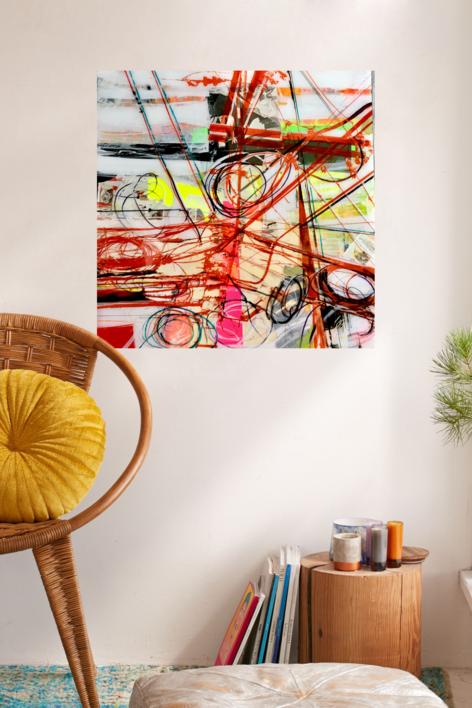 GUIÑO AL GUERNICA   Collage de Erika Nolte   Compra arte en Flecha.es
