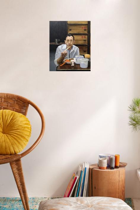 Mr. Koo | Pintura de Pablo Colomo | Compra arte en Flecha.es