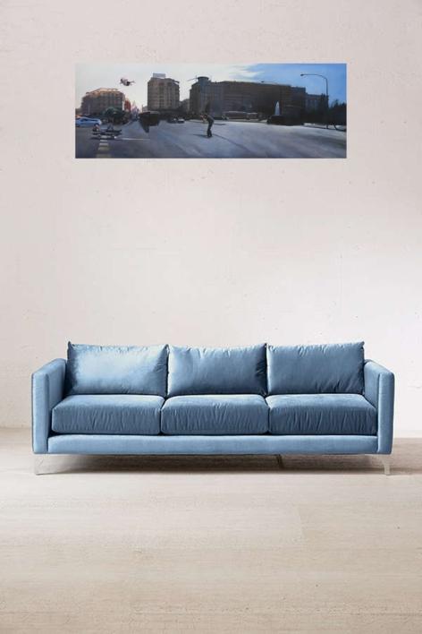 Ficción Urbana V | Pintura de Erick Miraval | Compra arte en Flecha.es