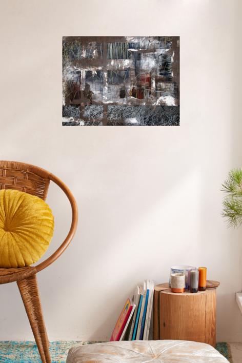 Our times VII   Pintura de Claudio Palazzo   Compra arte en Flecha.es