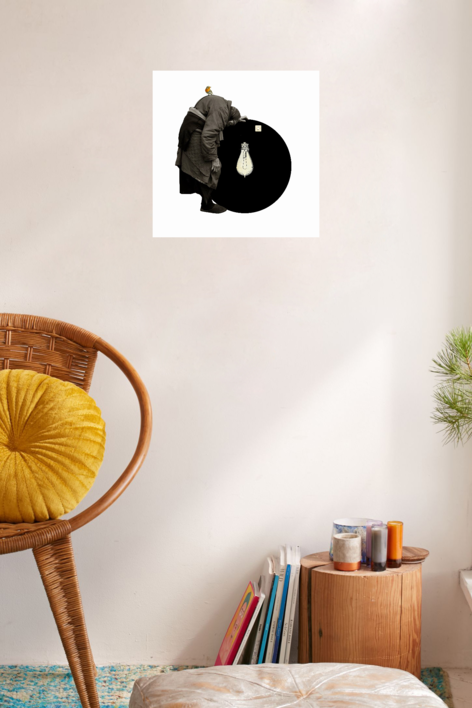 Agujero negro nº 16 | Collage de Gabriel Aranguren | Compra arte en Flecha.es