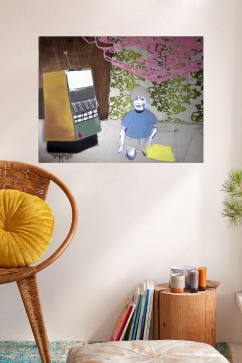 Invierno | Collage de Alejandra de la Torre | Compra arte en Flecha.es