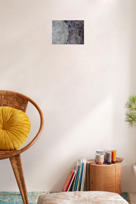 Moon | Obra gráfica de Arkal | Compra arte en Flecha.es