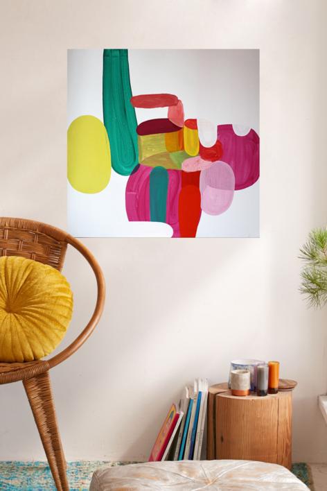 Can we really party today? | Pintura de Sergi Clavé | Compra arte en Flecha.es