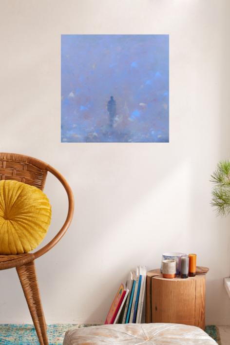 Homenaje a Caspar | Pintura de María Julia Bennassar | Compra arte en Flecha.es