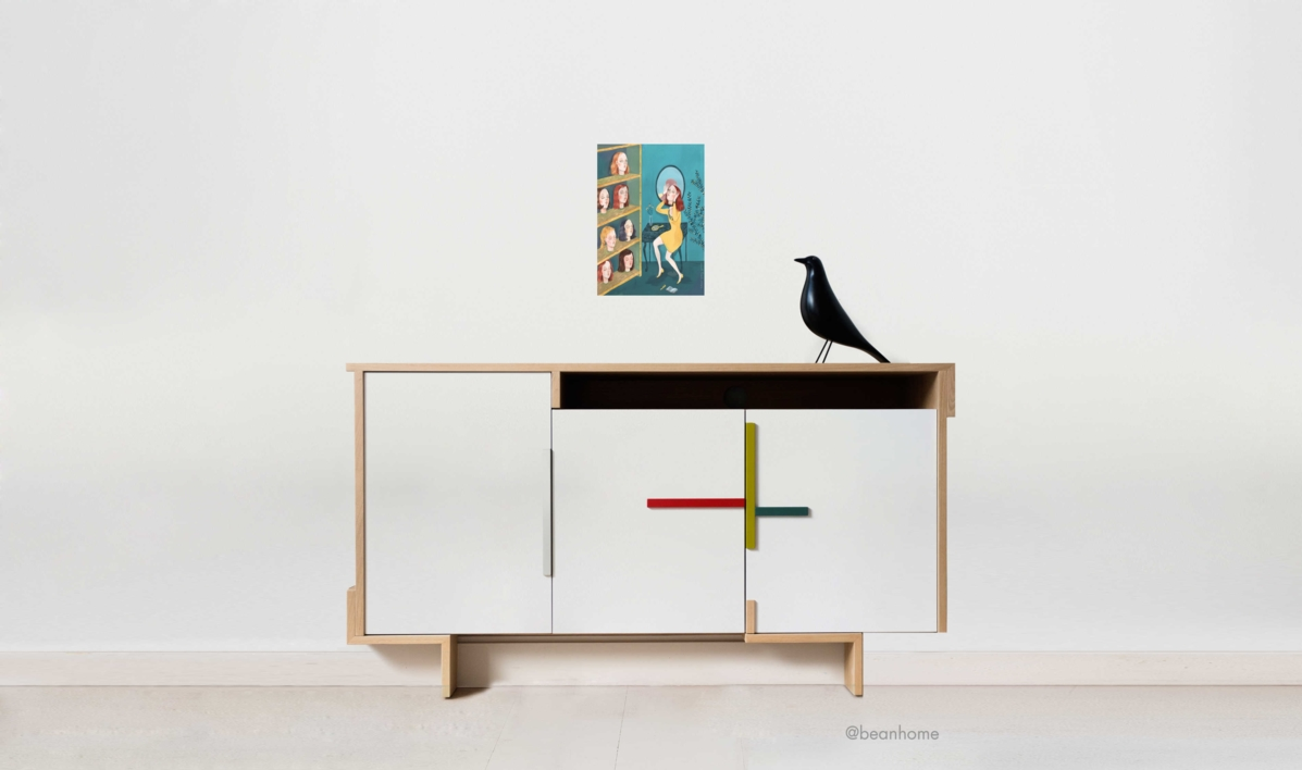 El Tocador | Dibujo de Helena Perez Garcia | Compra arte en Flecha.es