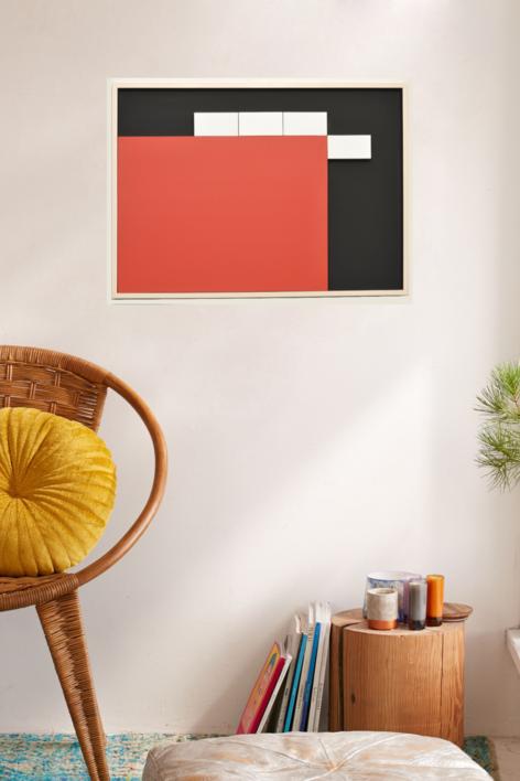 Móvil interactivo 0193 posición A | Escultura de pared de Manuel Izquierdo | Compra arte en Flecha.es