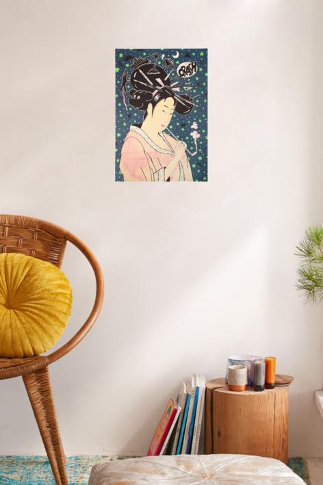 Geisha II | Obra gráfica de Fernando Bellver | Compra arte en Flecha.es