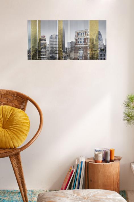 Londres/Madrid 1 | Digital de Paco Díaz | Compra arte en Flecha.es