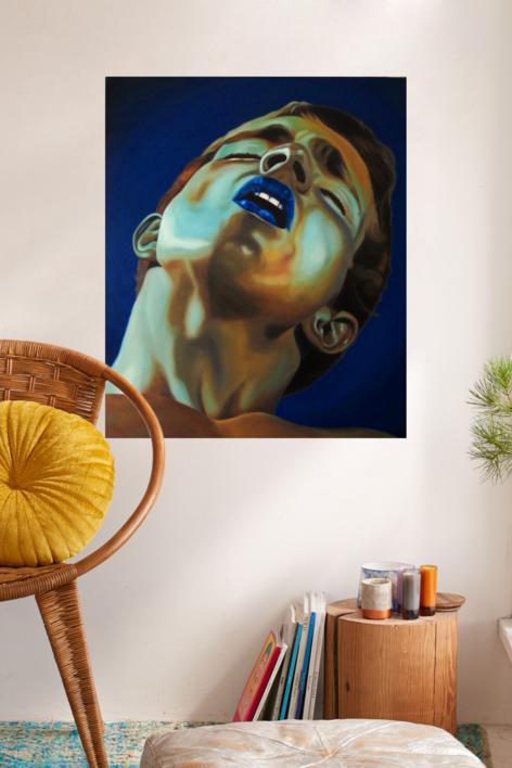 EXTASIS   Pintura de Juanjo Castillo   Compra arte en Flecha.es